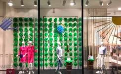 "Marc Cain unveils global ""green"" store window concept with Seed Evolution"