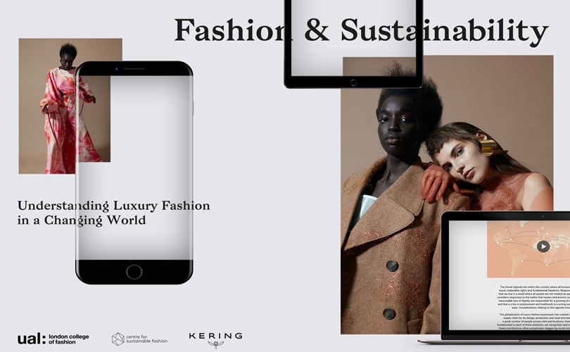 Kering & London College of Fashion to offer first digital course in sustainable luxury fashion