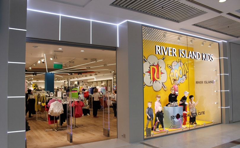River Island opens first standalone kidswear store​​ in Glasgow