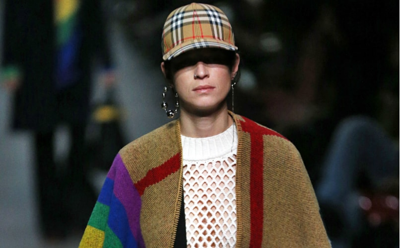 d031d4747d3a Rainbows and retro pieces  Bailey bows out at Burberry