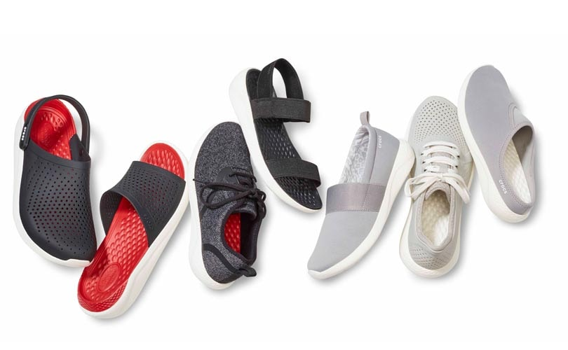 Crocs launches new LiteRide collection