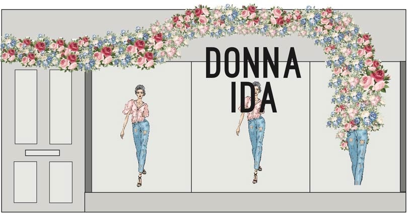 Donna Ida x Vestiaire Collective for Belgravia in Bloom