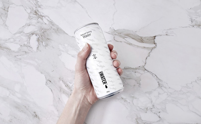 Christopher Raeburn designs aluminum water cans for London Zoo