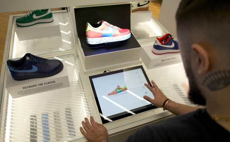Nike Inc. first apparel company to try Facebook Messenger's new AR tool