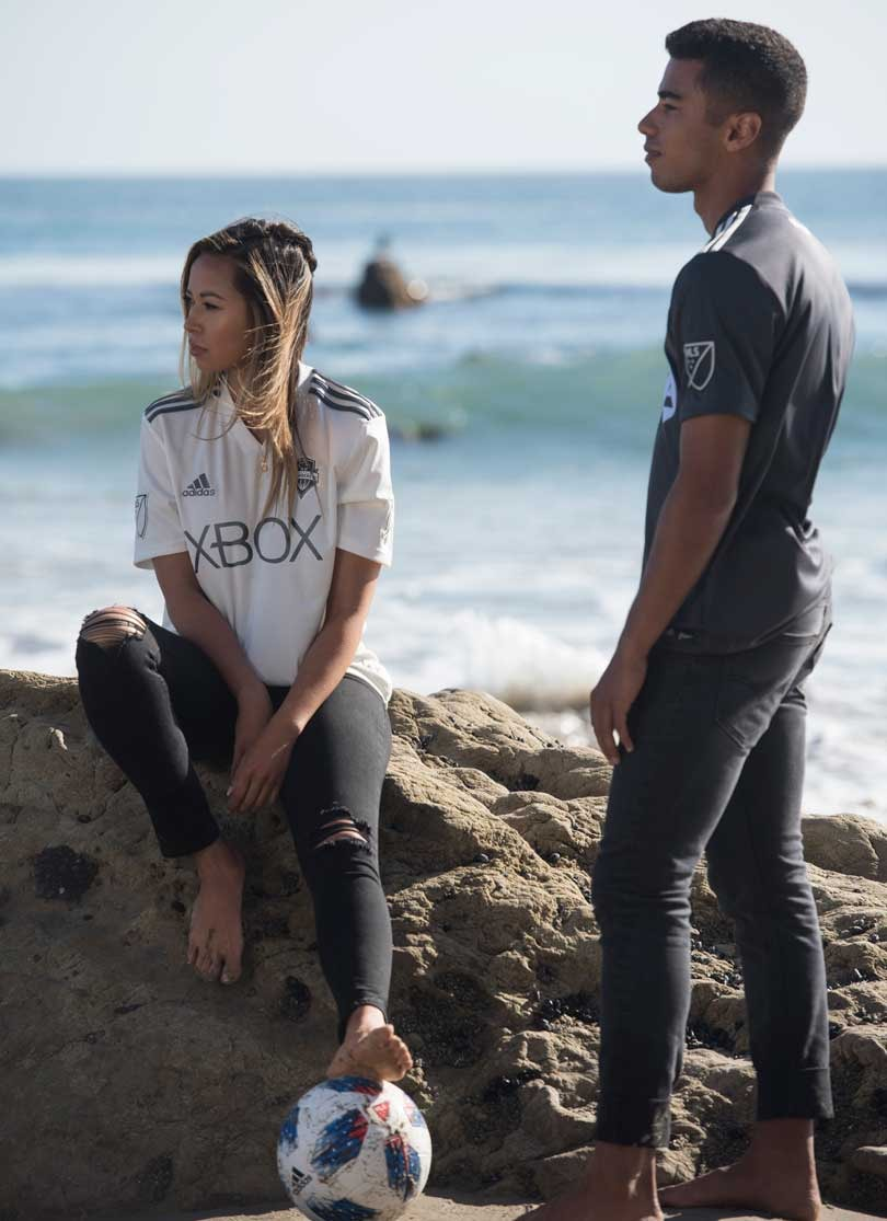 0048b7153 Adidas release football shirts made from upcycled plastic ocean waste