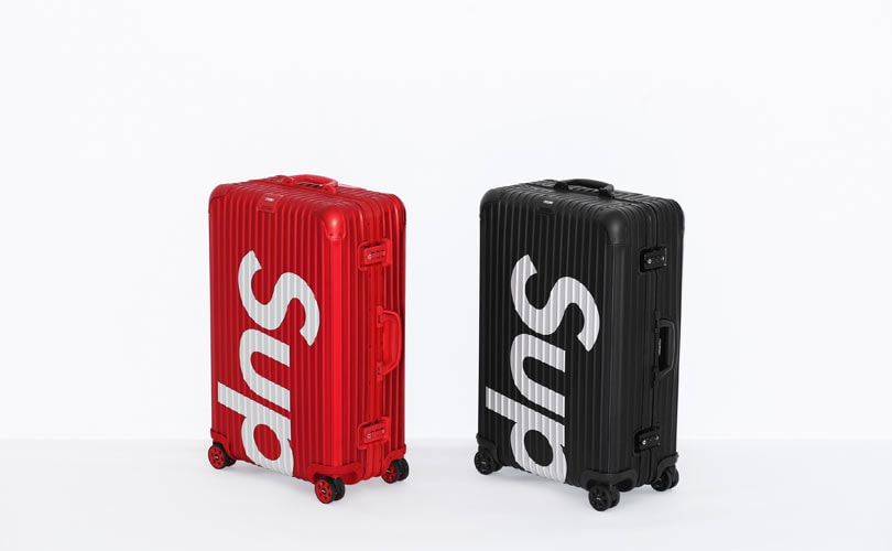 Supreme teams up with Rimowa for luggage collection