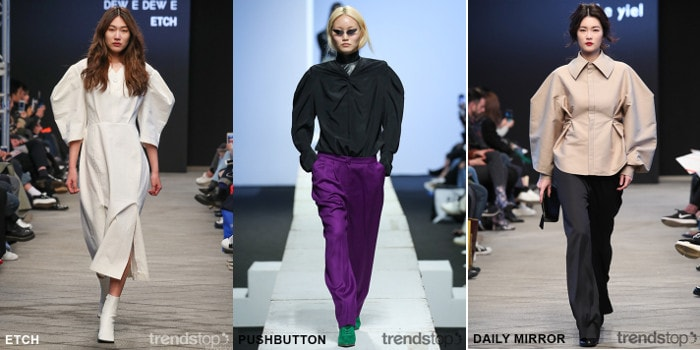 Fw18 19 Seoul Fashion Week Top Trends