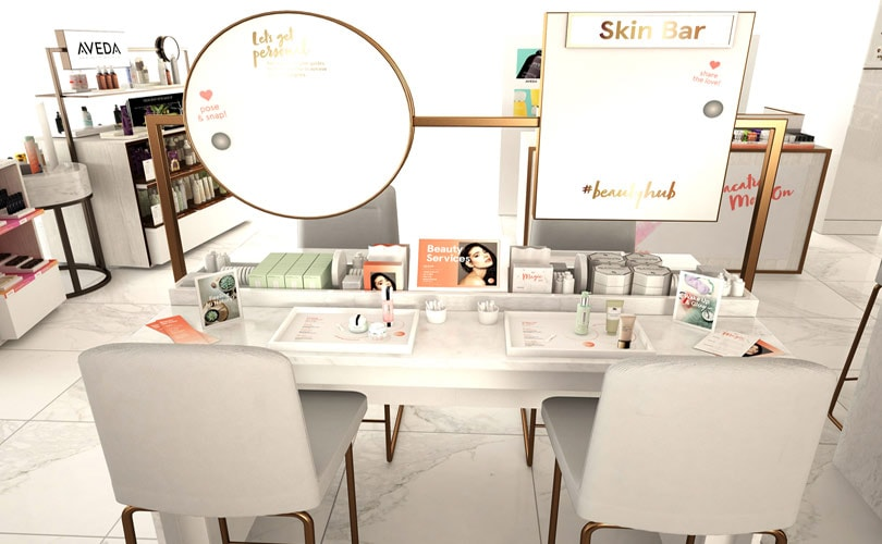 Debenhams unveils debut #Beautyhub with Estée Lauder