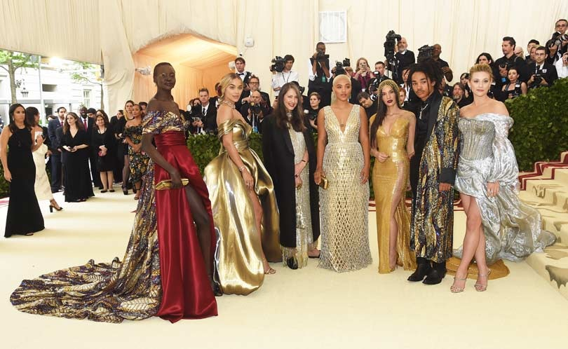 Met Gala 2018 red carpet - catholicism and fashion collides