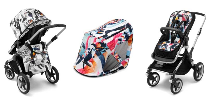 Dutch brand Bugaboo launches baby stroller collection with We Are Handsome