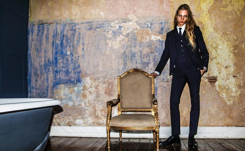 Debenhams launches new men's suiting concept