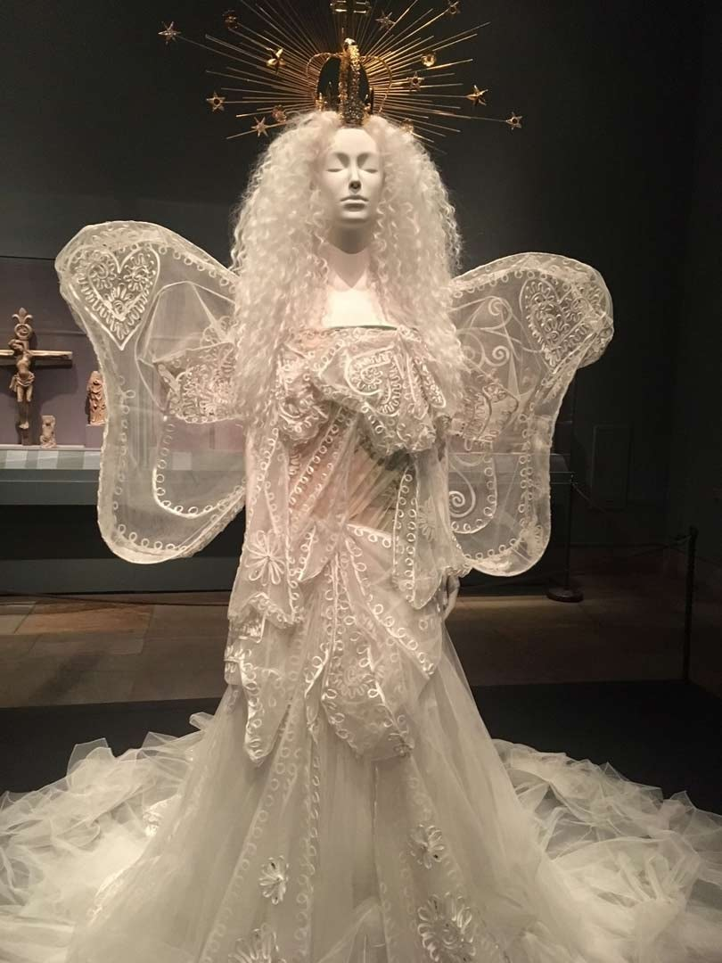 in pictures  heavenly bodies  fashion and the catholic