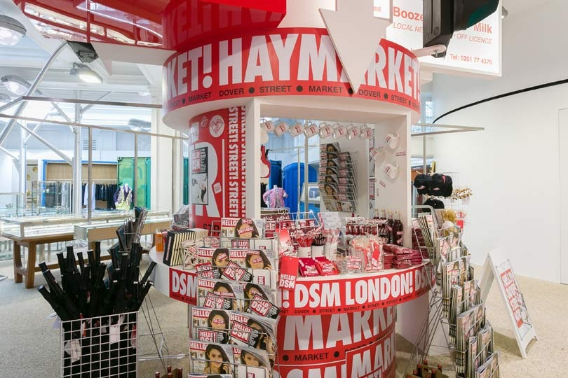 Dover Street Market collaborates with Hello!
