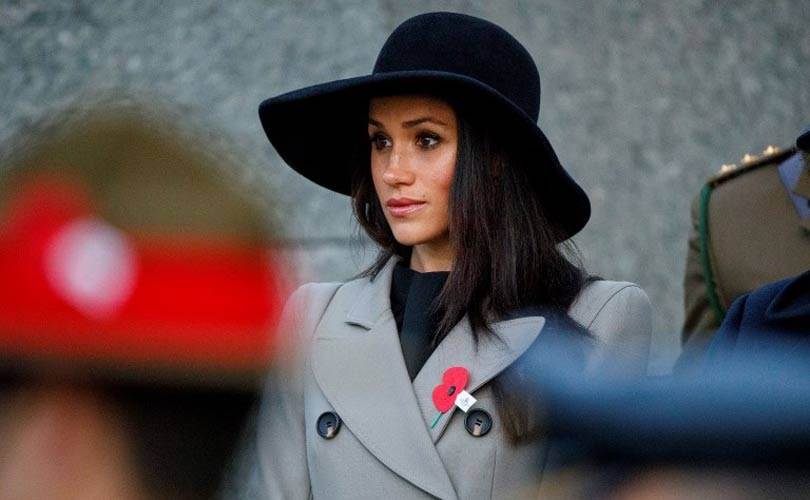 Glamour girl turned duchess: Meghan tones down
