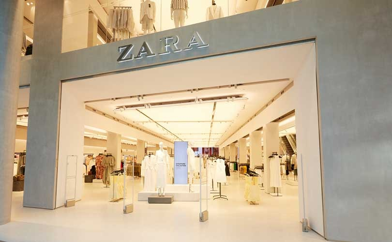 inditex opens the zara store of tomorrow at westfield. Black Bedroom Furniture Sets. Home Design Ideas