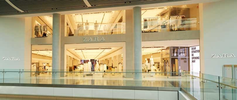 Inditex opens the Zara store of tomorrow at Westfield Stratford