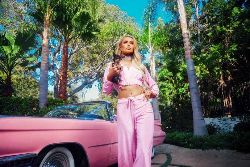 1c2298472906 In Pictures: Boohoo unveils Paris Hilton collaboration