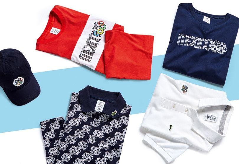 Celebrates Olympic Heritage Apparel Line Lacoste New With Omnw0vN8