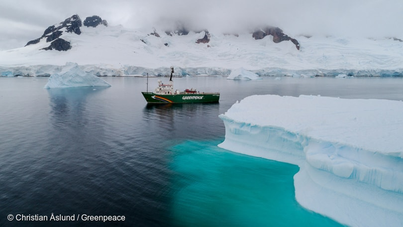 Greenpeace expedition finds microplastics in remote Antarctic waters
