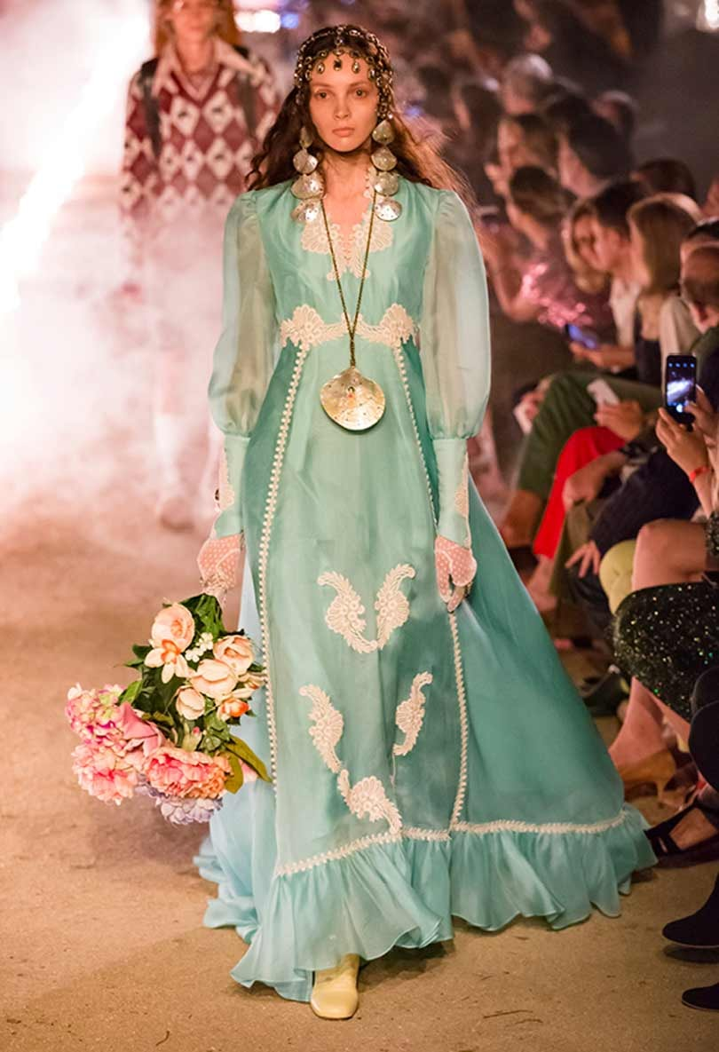 In Pictures: Gucci explores death fascination in its Cruise 2019 show