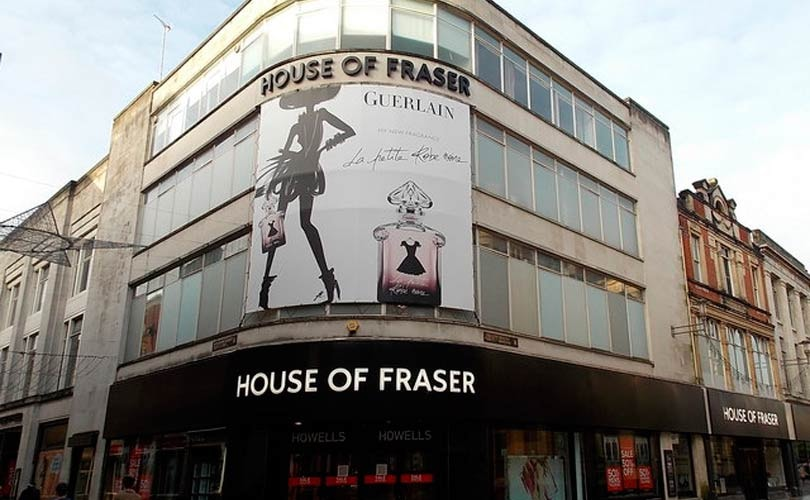 House of Fraser rescue scheme to cost 6,000 roles