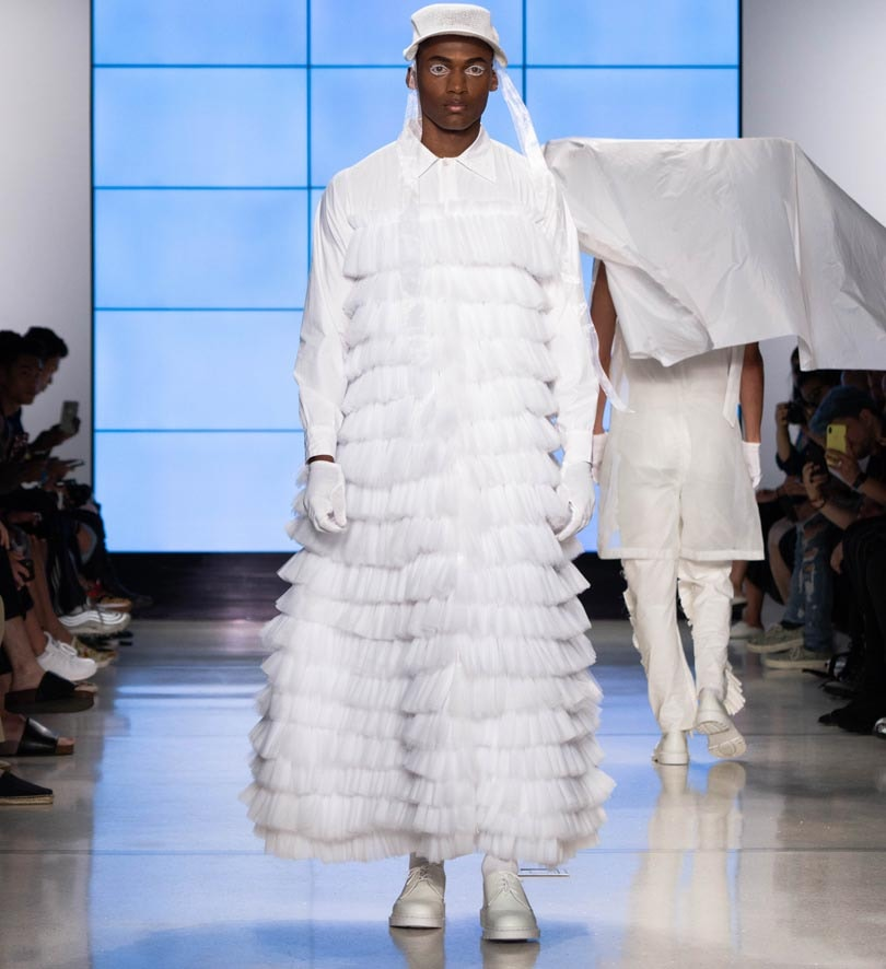 Alessandro Trincone goes genderless for NYFW: Men's
