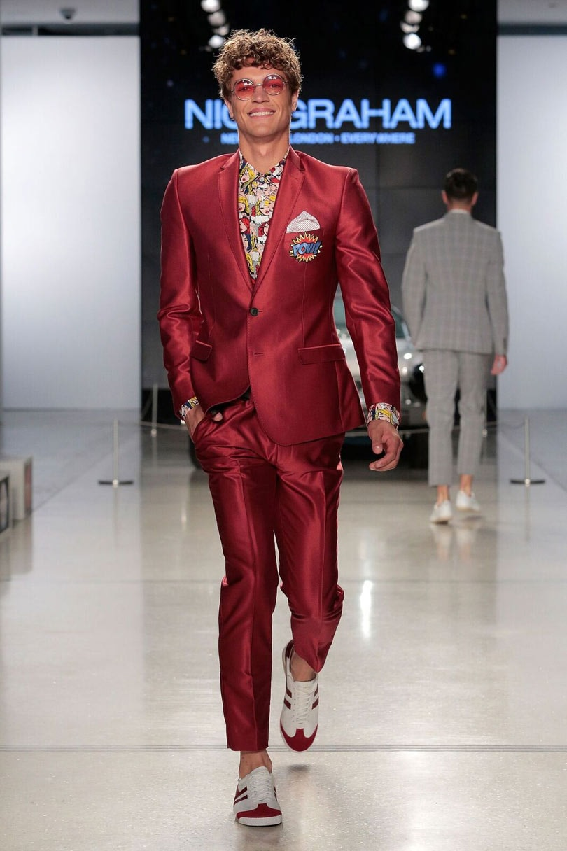 Nick Graham finds sixties inspiration for NYFW: Men's