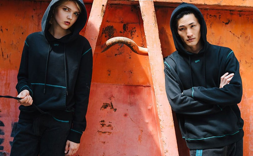 f1d9ebe445df Off-White launches capsule collection with e-tailer TheDoubleF