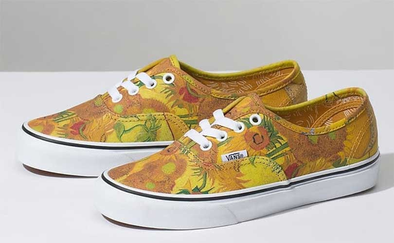 Van Gogh's paintings come to life in new Vans collection