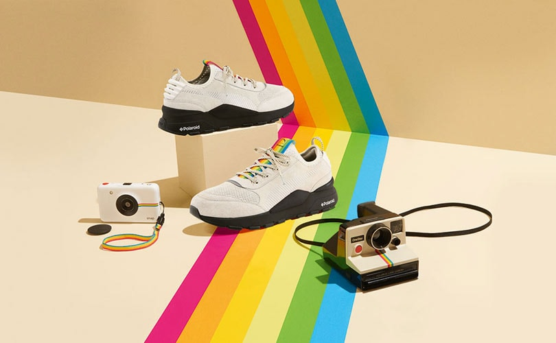Puma x Polaroid collection to be