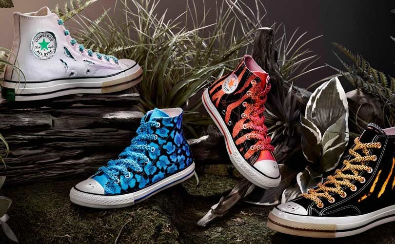 New Converse x Dr. Woo collab: sneakers that change color with wear and tear