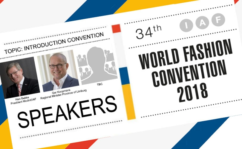 34th IAF World Fashion Convention's program all set!