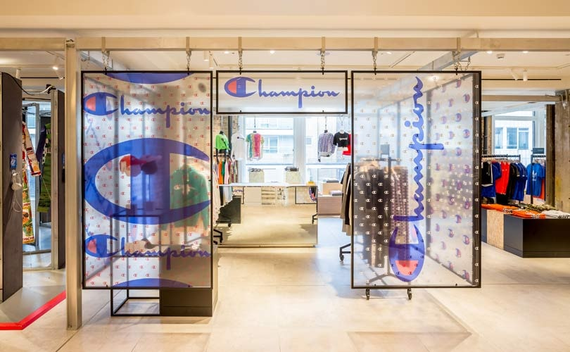 Champion Opens Women S Pop Up Store At Selfridges