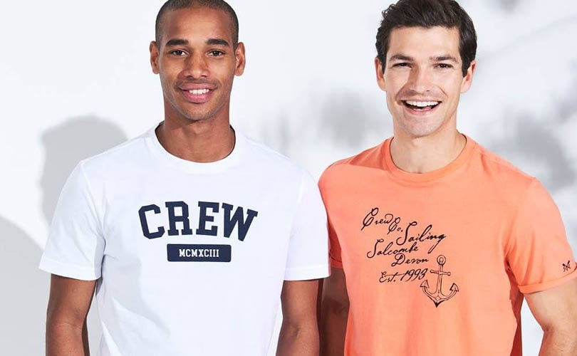 Crew Clothing posts 2 percent rise in annual turnover
