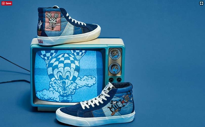 7288eea000 Disney celebrates Mickey s 90th anniversary with Vans and Forever 21  collections