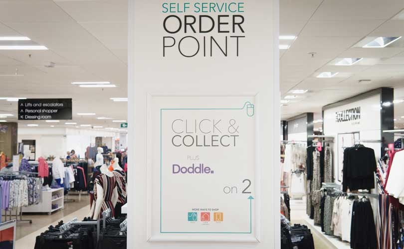 Doddle Click and Collect rolls out across all Debenhams stores
