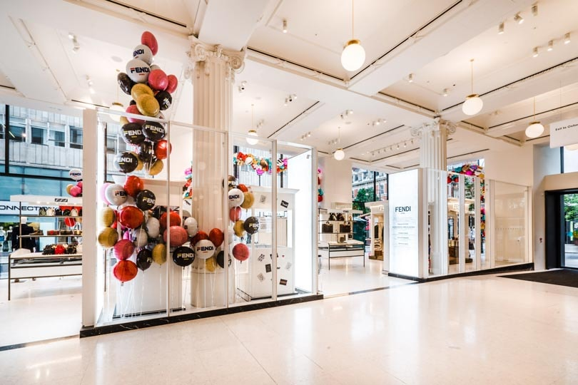 In Pictures: Fendi first label to take up Sefridges' entire Corner Shop