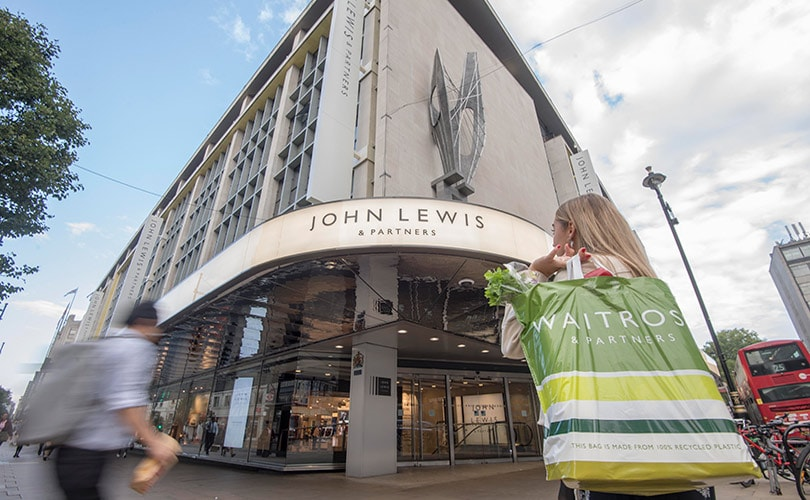 Three UK department stores announce rebrands