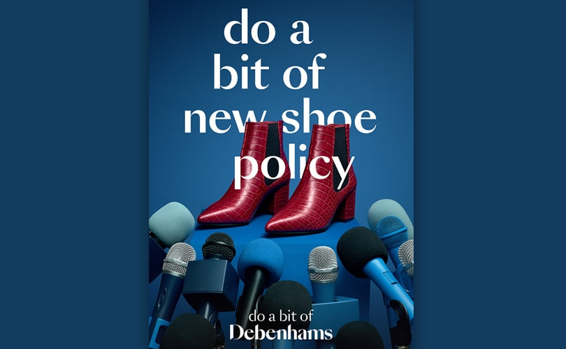 Debenhams launches new brand identity