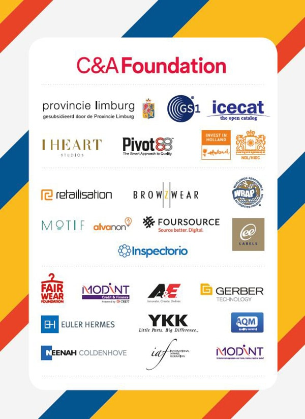 List of Sponsors to the 34th IAF World Fashion Convention Complete!
