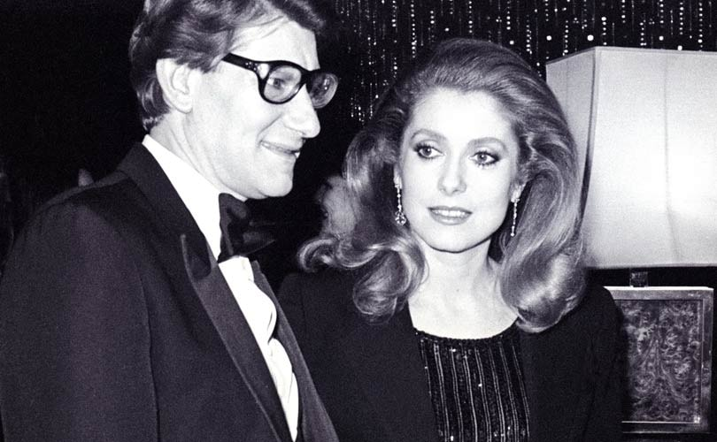 d0e2bd598d6 French actress Deneuve to auction off personal YSL collection