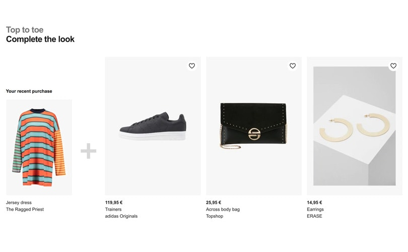 Zalando launches algorithm to suggest outfits to customers