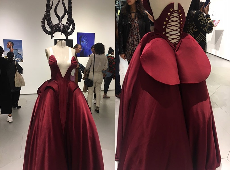 Exhibit tackling fashion and race boosts diversity dialogue