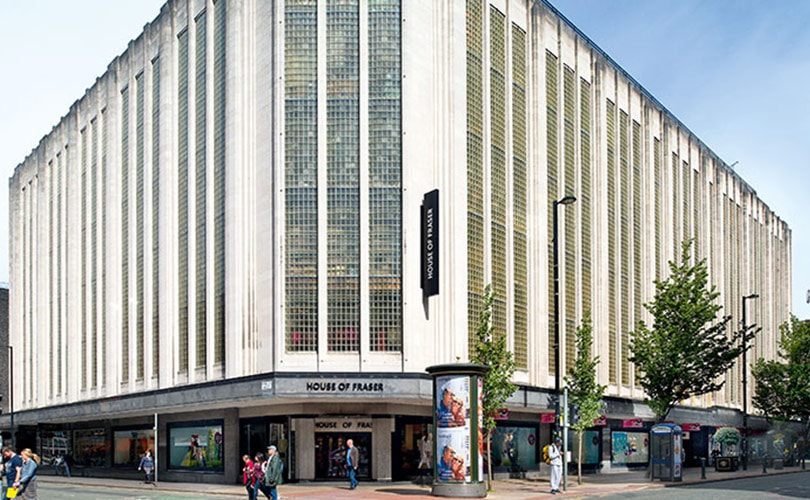 Manchester's House of Fraser saved from closure