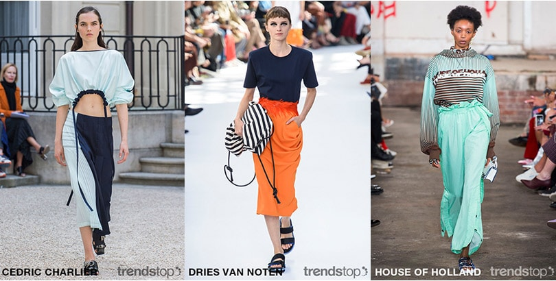 Spring Summer 2019 Key Themes Directions on the Catwalks