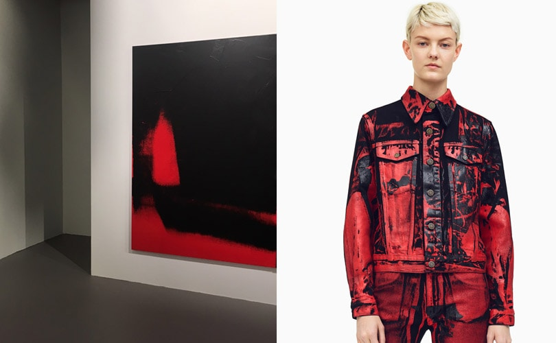 Fashion meets art: Calvin Klein Exhibits Andy Warhol