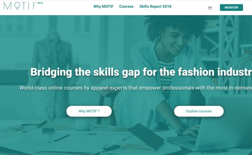 Motif offers online courses to fill the skill gap in fashion