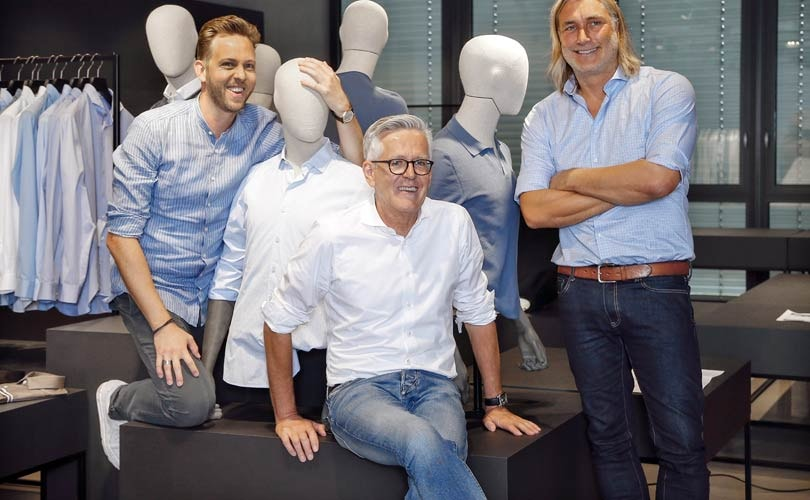 Reinhard Hölscher appointed head of design for Olymp Casual