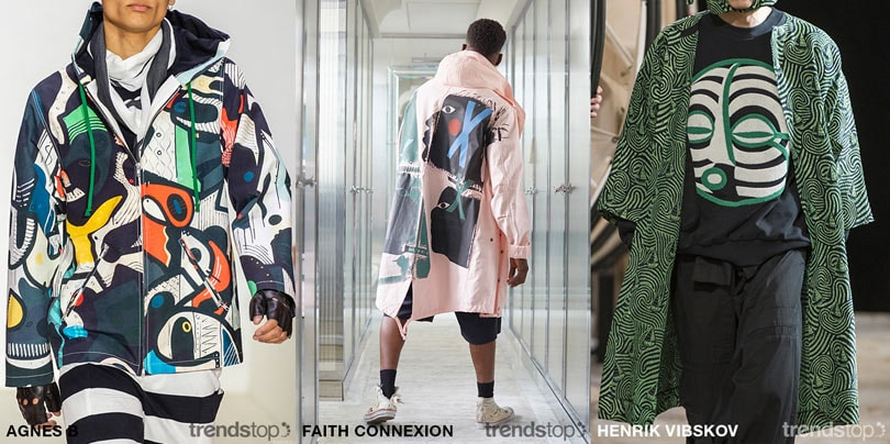 SS20 Men's Fast Fashion Print Directions