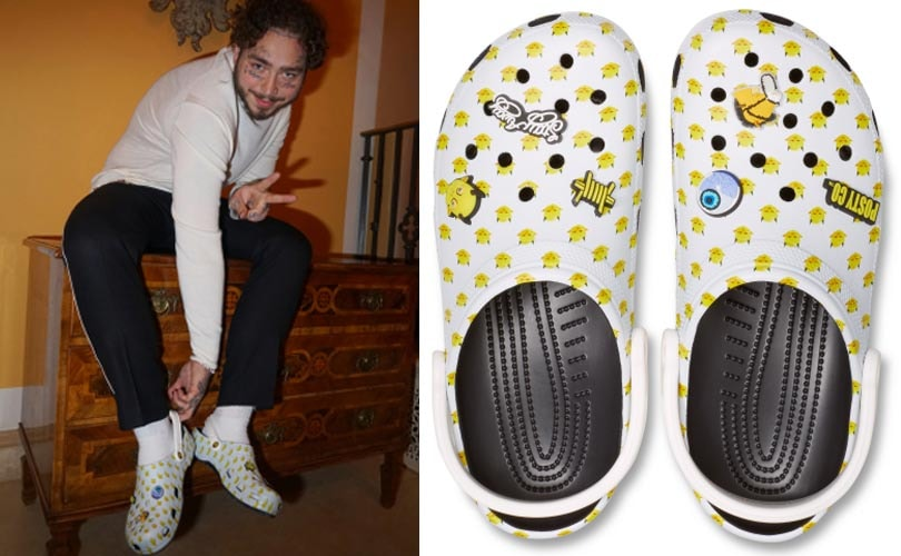 Post Malone's new Crocs line sells out in hours